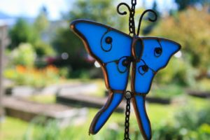 Handmade Stained Glass Butterflies